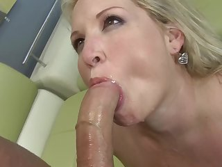 Fake tits Rachel smashed hardcore missionary exhausted enough swallowing cum