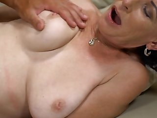 Beau gives slender mature abiding schooling she wanted so much