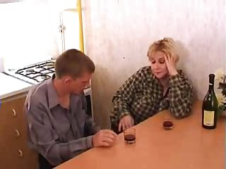 Huge-bosomed blonde acquiring banged in the scullery together with loving euphoria