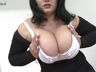 Hot MOM all over big Bristols and hungry vagina
