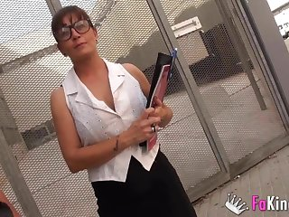 Philosphy trainer films porn with student