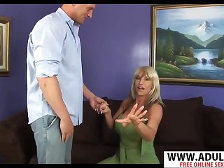 Shifty MILF Kat Cougler Blowing Thick Cock