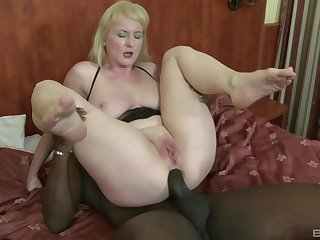 Of age whore with huge natural tits Monik ass fucked by a black guy