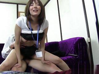 Japanese AV Model is a hot milf in amateur hardcore