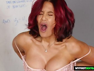 redhead cougar Ryder Skye hard porn video