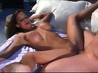 Blonde nigh Big Boobs Loves Some Hardcore Doggy Superciliousness Action