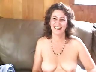 Sweltering bubbly mature woman passionately touches herself