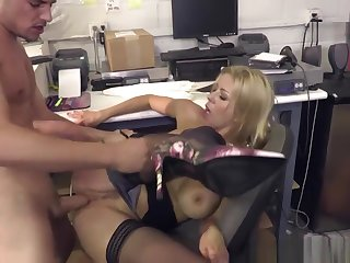 Shewillcheat - Well-endowed Milf Queen Fucks New Worker