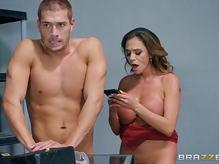 after along to tit job Ariella Ferrera can't wait to feel friend's hard shaft