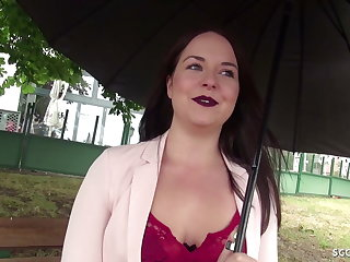 GERMAN SCOUT - SEDUCE TEENY EMMA Silent TO Win LAID AT CASTING
