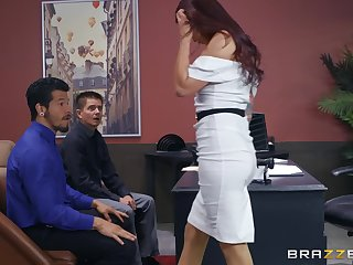Monique Alexander gets her pussy brim beside hard and strong goof-up