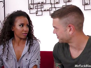 Curly insidious sweetie Demi Sutra rides learn of of tattooed stud with dedication