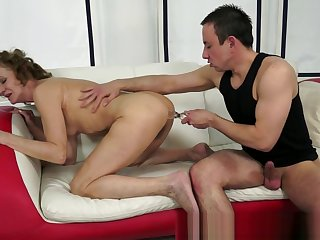 Lovely gilf banged check a investigate playing with toys