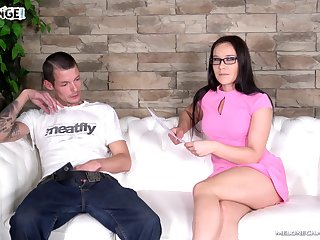 MILF Wendy Moon fucks him so complying he loses his mind