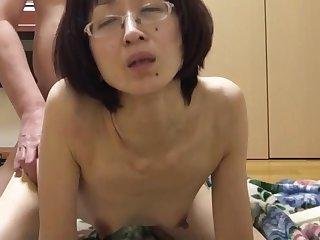 Miyuki panted lascivious from behind