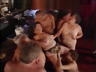 Experienced swingers group sex