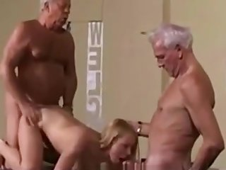 Vintage Old Young Teenie Girl Fucked White Hair Grandpas - watch more atop adultx.club