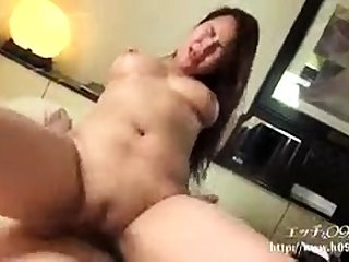 Asian aggravation and wet pussy toyed hardcore anent wine bar