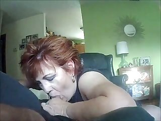 My wife is a fellatio artist and she can drag inflate my dick while being blindfolded