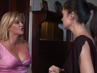 Stephanie hot lesbian MILF porn peel