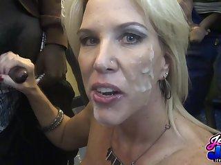 Mature whore crazy bukkake porn flick
