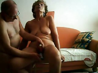 I was so turned on to the idea of stimulating my elderly wife's twat with will not hear of trifle