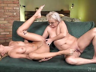 grey plus young lesbian love with petting plus pussy fingering