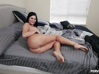 Big botheration brunette gets working in classic POV scenes