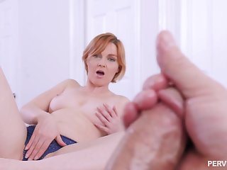 Aroused MILF wants a crumb be advantageous to her step son's overrefined dong