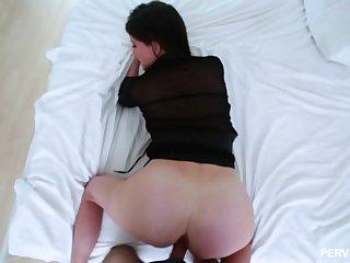 Hardcore taboo POV fucking for oversexed MILF Sofie Marie