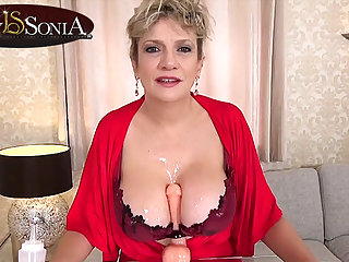 More jerk off directions from domineer matured Lass Sonia