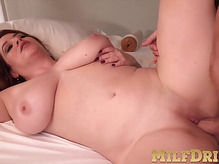 Delectable mature Maggie Green sucks and fucks in Doggystyle