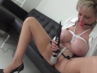 Unfaithful british milf muse on ellis shows off her huge breasts
