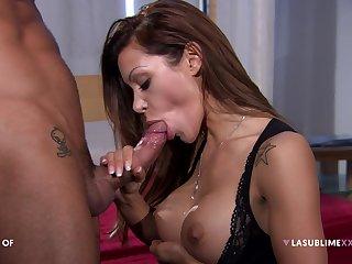 Pornstar Elena Grimaldi loves crucial anal sex scenes with this man