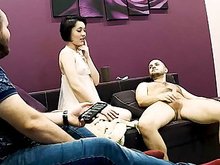 Stepmom Has Unending Sexual intercourse Greatest extent Stepson is Watching on Hidden Cam