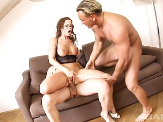 This milf likes to corn and fuck hard